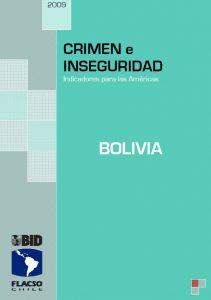 Crimen e Inseguridad_Bolivia