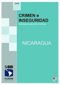 Crimen e Inseguridad_Nicaragua